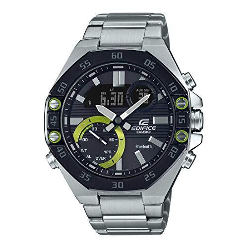 Casio Edifice Bluetooth Connect Analog-Digital Black Dial Men's Watch ECB-10DB-1ADF(ED493)