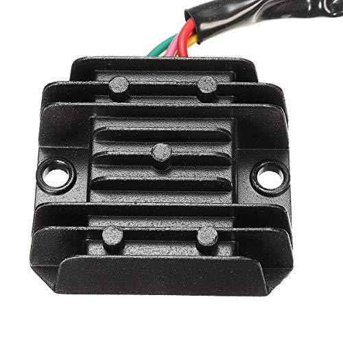 JFCUICAN Pastillas de Freno Motocicleta rectificador regulador del Motor en Quad Vespa 4 Cables Universal ATV Accesorios for Motocicletas