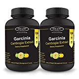 Sinew Nutrition Garcinia Cambogia Extract -(90 count - Pack of 2) 1500 mg