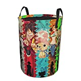One Piece Laundry Basket Collapsible Laundry Hamper Drawstring Hampers Circular Storage Bin Waterproof Dirty Clothes Bag Toys Organizer For Closet Round Tunic Dirty Pocket
