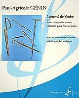 ジュナン: 幻想曲「ヴェニスの謝肉祭 」Op.14/ビヨドウ社/フルートとピアノ
