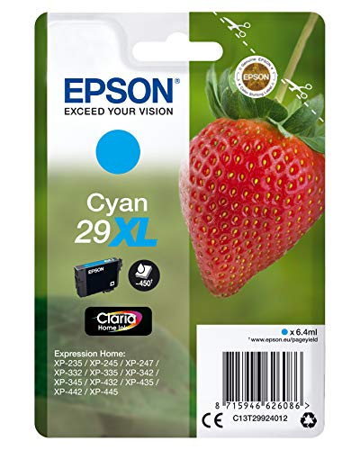 Epson cartouche Cyan 29xl Home Ink