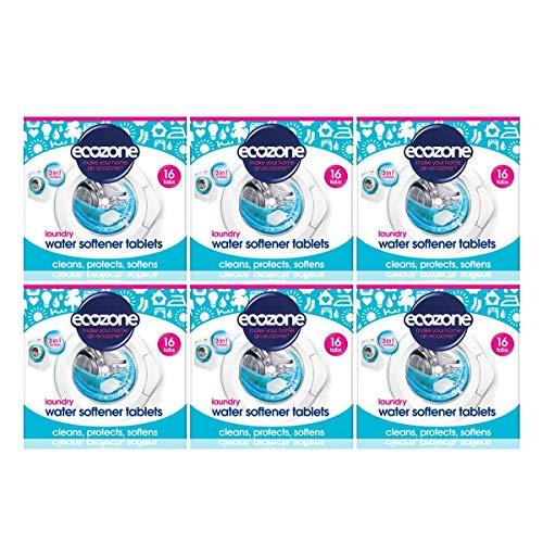 Compresse Ecozone Addolcitore D'Acqua 16 Per Confezione - (Confezione da 6)