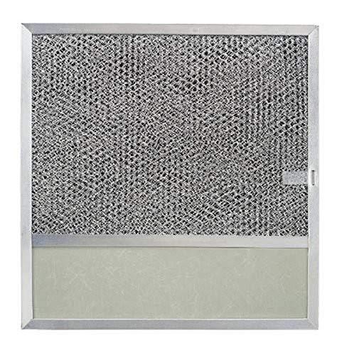 Broan-NuTone BP57 Ersatzfilter mit Kohle-Pad und Lichtlinse für Dunstabzugshaube 43000 Serie, 28,9 x 28,9 cm, Aluminium