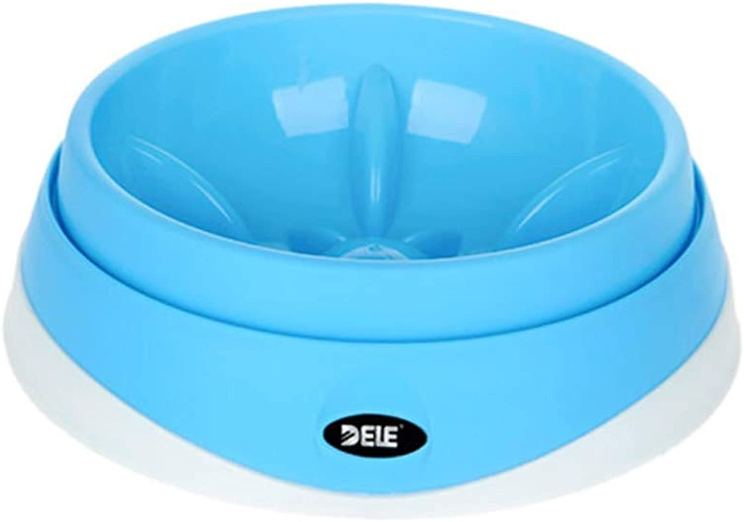 Haoyushangmao Cat Bowl, Cat Food Bowl, Dog Food Bowl, Pet Supplies, Ceramic Bowl, Cat Feeder, Dog Food Bowl, Best Gift Latest Models (color   bluee, Size   Large)