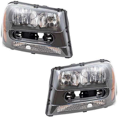 05 trailblazer headlight assembly - 6