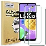 AOKUMA für LG K52 Panzerglas, 【2 Stücke】 Glas