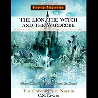 The Lion, The Witch and the Wardrobe audiobook cover art