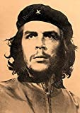 shuimanjinshan Socialismo Cubano Che Guevara Vintage Lienzo Pintura Cuadros de Pared Cartel Recubierto Pegatinas de Pared Decoración del hogar Regalo Lienzo 50x70cm B1