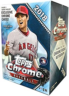 topps chrome 2018 baseball