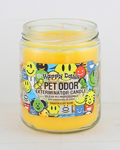 "Happy Days"" Pet Oder Exterminator Candle"" 13 oz"