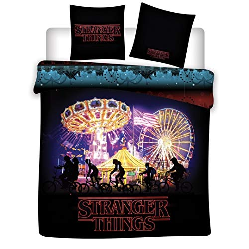 Difuzed Stranger Things - Duvet Cover 140x200cm - Night '100% Coton'