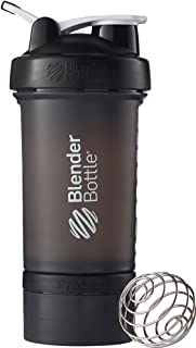 Blender Bottle(ブレンダーボトル) Blender Bottle ProStak 22オンス(650ml) - BLACK/BLACK [並行輸入品]