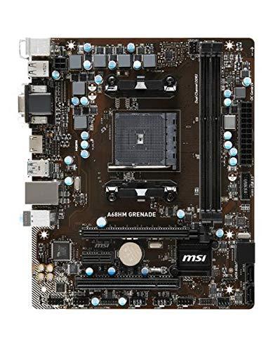 MSI A68HM Grenade AMD A68H Mainboard Micro ATX Sockel FM2+