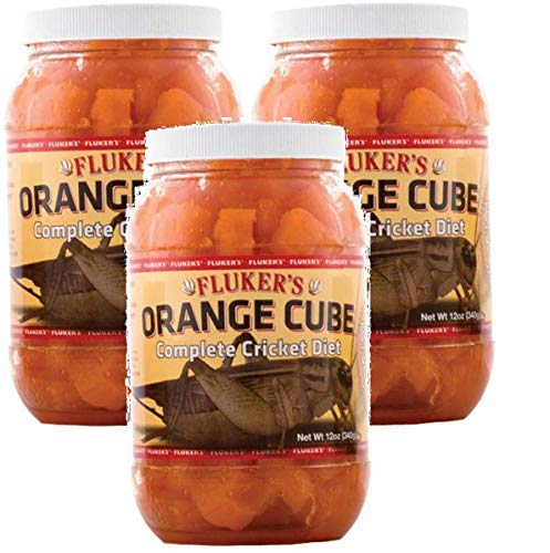 Fluker's 12 oz Orange Cube Complete Cricket Diet