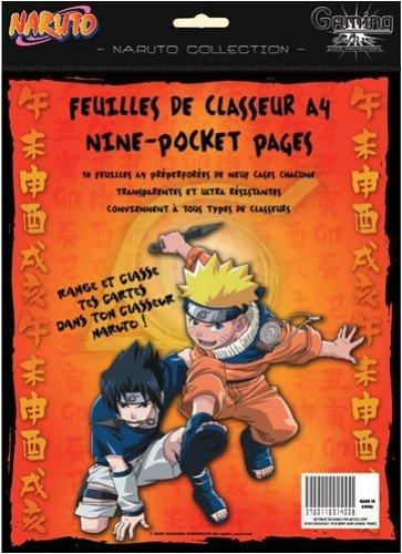 Gaming Deluxe – ACCNRT006 – Gesellschaftsspiel – Naruto – 10 Ordner Gaming Deluxe
