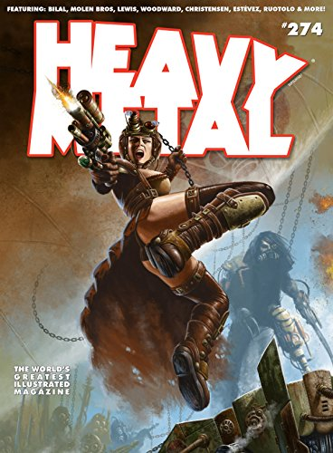 Heavy Metal #274 (English Edition)