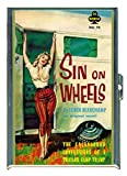Sin On Wheels Trailer Park Pulp Stainless Steel ID or Cigarettes Case (King Size or 100mm)