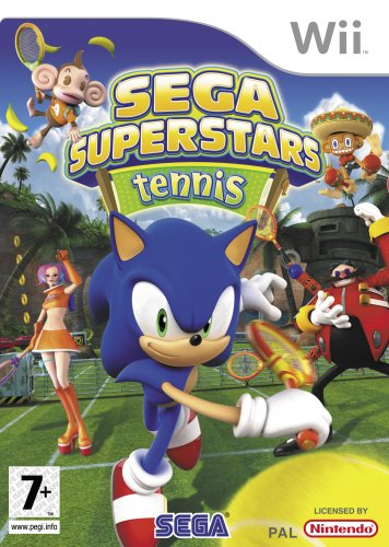 SEGA Superstars Tennis, Wii - Juego (Wii, Nintendo Wii, Deportes, E10 + (Everyone 10 +))