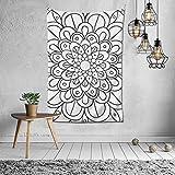 Hoa Hoc: tapiz de pared para decoración de ventana, decoración de interiores, tela de decoración popular (60 x 40 pulgadas)