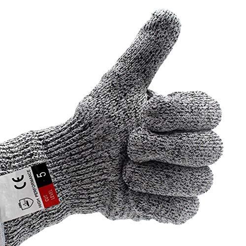 RJJX Home Angenehm auf der Haut Touchscreen Handschuhe-Schnittschutz-Handschuhe, ideal for Angeln Nähen Handwerk Kochen und Arbeiten Weg von Schnitt-und Schürf Geeignet für eine Vielzahl von Anlässen