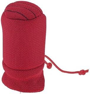 eDealMax Shift Rojo antideslizante algodón mezcla Gear Set Mano botón de la tapa de arranque Para