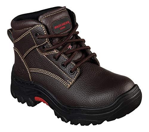 Skechers New Women's Burgin-Krabok Work Boot Brown 9