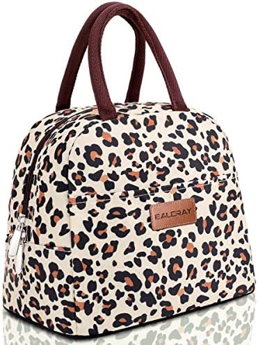 BALORAY Lunch Bag Tote Bag Lunch Bag for Women Lunch Box Insulated Lunch Container Beige with product image