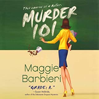 Murder 101 audiobook cover art