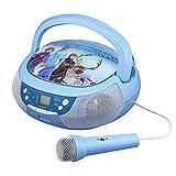 Reine des Neiges 2 Lecteur CD Boombox avec Micro et Radio AM/FM