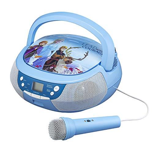Disney Frozen CD-speler met microfoon Frozen 2