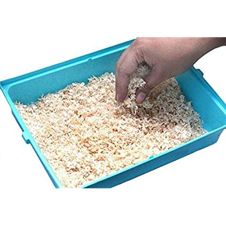 The Pets Company Dust Less Bedding Wood Shavings for Hamster, Bird, Chinchillas, Guinea Pig, Mice, Rabbit, Reptiles & Small Animals, 1 Kg