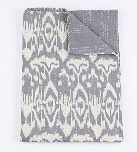textile treasure Manta india hecha a mano hippie gitano, bohemio, chic, colcha bohemia, colcha Kantha ropa de cama