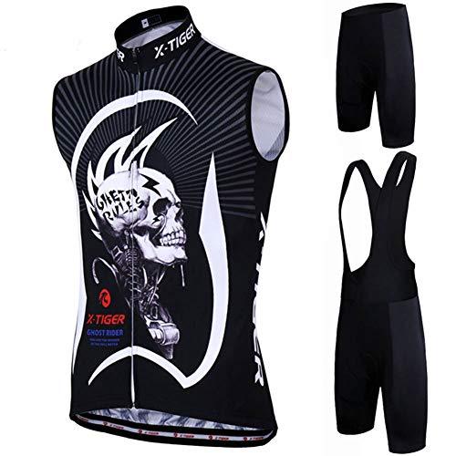 Maillots Ciclismo T-Short Ropa Jersey Equipacion Conjunto Cómodo Verano Bici Mallas Pantalones...