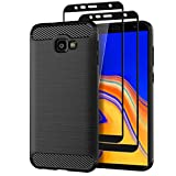 Teayoha Case for Samsung Galaxy J4 Plus 2018, with Tempered