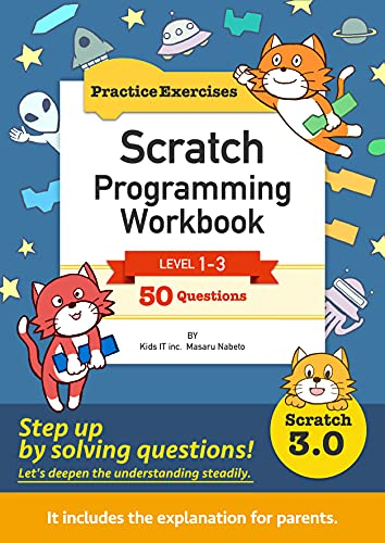 Scratch Programming Workbook: Practice Exercises Front Cover