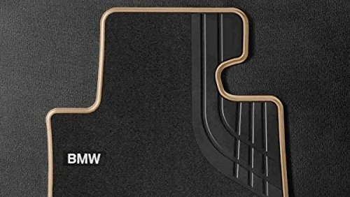 BMW Original Veloursfußmatten LHD vorne 2er Active Tourer F45 Modern anthrazit/beige
