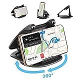Modohe Support Téléphone Universel Voiture avec Silicone Collant, 360°pivoter de Bord Support de...