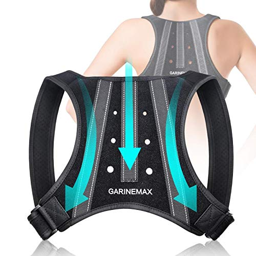 2020 New Posture Corrector for Men Women, Shoulder Back Support, Breathable Lengthened Soft Sponge Pad Adjustable Back Brace for Clavicle Support , Providing Pain Relief From Neck, Back & Shoulder.