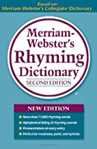 Merriam-Webster's Rhyming Dictionary, Second Edition, Trade Paperback PDF