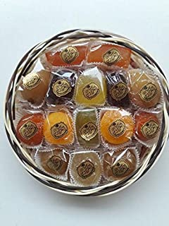Candied Fruit Assortment Gift Basket (1.1 lb),Gift Box,Petite Gourmet,Best Gift For Christmas, Layali Desserts, Fruit gift, Gift for women,Get Well Corporate Basket, fruit basket, Arabic, turkish