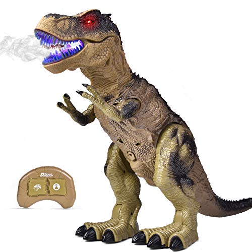 Elektronische LED Walking Dinosaurier Brüllen /& Glowing Eyes Kinder Toy