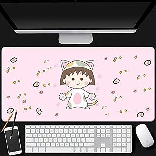 Mopoq Cherry Maruko precision seaming craftsmanship feel comfortable mouse pad oversized upgrade thickening Japanese anima...