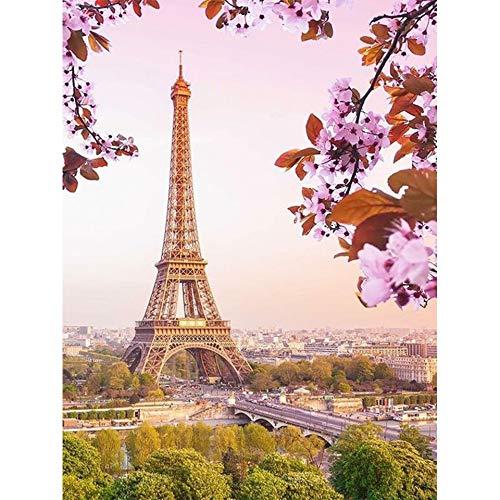 Jigsaw Puzzle for Adults 1000 pcs 50x75cm Paris tower landscape Wooden Jigsaw Puzzles Game Challenge 1000 pcs Jigsaw Puzzle for Adults & for Kids Age 12 and Up