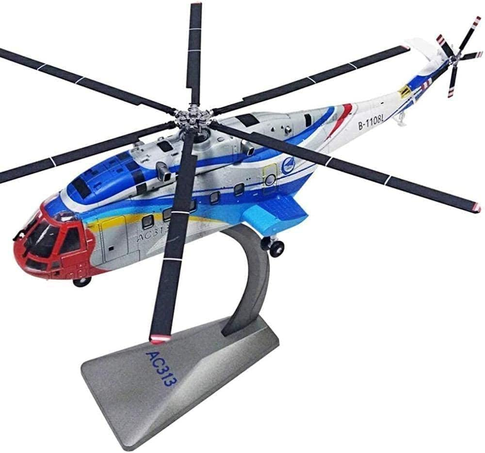 Austin Mall N-Y Helicopter Model Super special price Military Three Painted Aircraft Metal