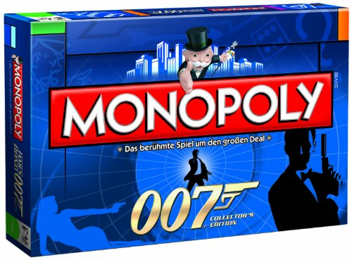 Winning Moves 42136 Monopoly Sonder Edition: 007 James Bond, Collector`s Edition