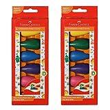 Faber-Castell Kindergarten Grasp Crayons - 6 Pieces - Assorted (Pack of 2)