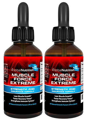 Muscle Force Extreme 2 Bottle Pack 400mg Proprietary Formula Our Strongest Strength and Endurance Spray, Improves Muscle Strength and Recovery Time 2oz Spray Bottles Free Shipping