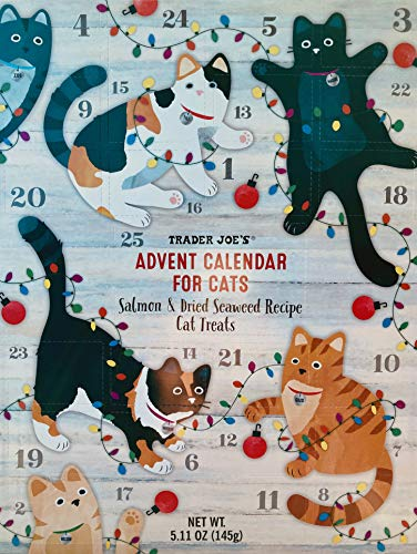 Trader Joes Cat Advent Calendar -Salmon and Dried...