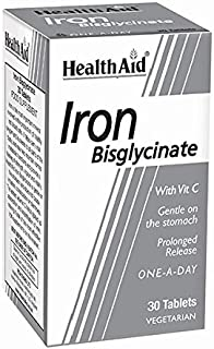 HealthAid Iron Bisglycinateablets - 30 Tablets